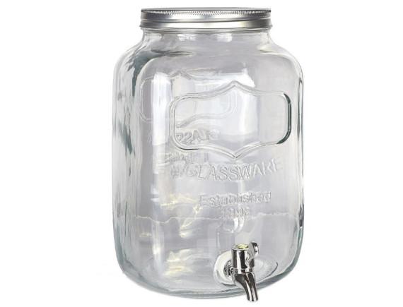 Лимонадник стеклянный 4 л Feniks