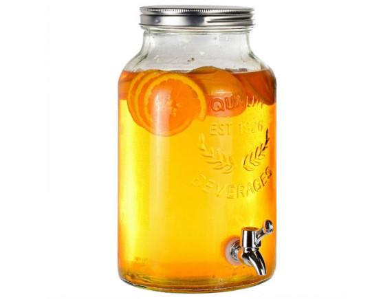 Лимонадник стеклянный 5.5 л Feniks