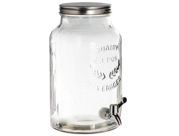 Лимонадник стеклянный 8 л Feniks
