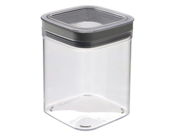 Ёмкость для сыпучих продуктов Curver Dry Cube 1.3L (серый)