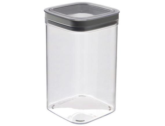 Ёмкость для сыпучих продуктов Curver Dry Cube 1.8L (серый)