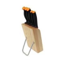 Набор ножей 5 шт. Fiskars Functional Form в подставке