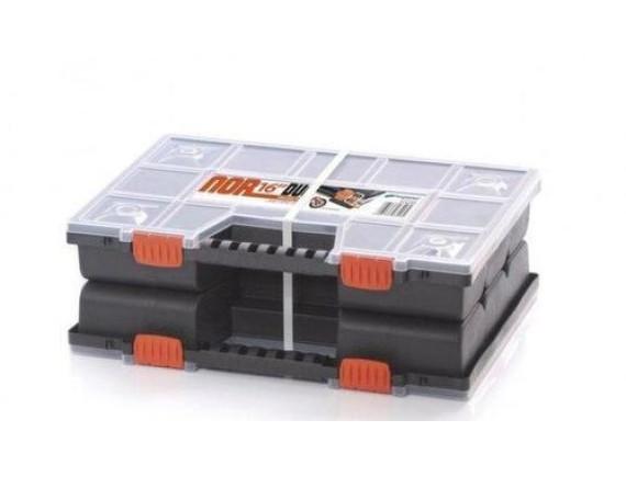 Ящик для инструмента NORP 14 DUO P, двойной