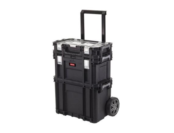 Ящик для инструмента Keter Connect Rolling System PRO (чёрный)