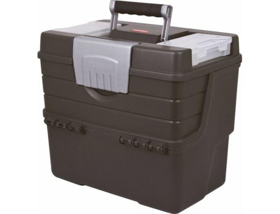 Ящик для мастерской вертикальный Keter (графит)