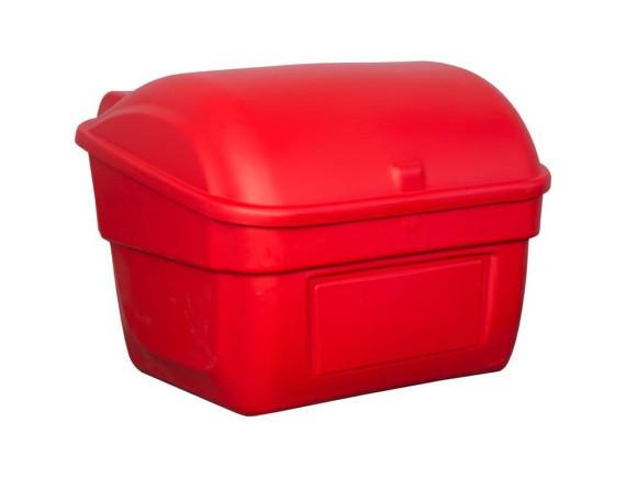 Пластиковый ящик для песка, 220 л (красный)