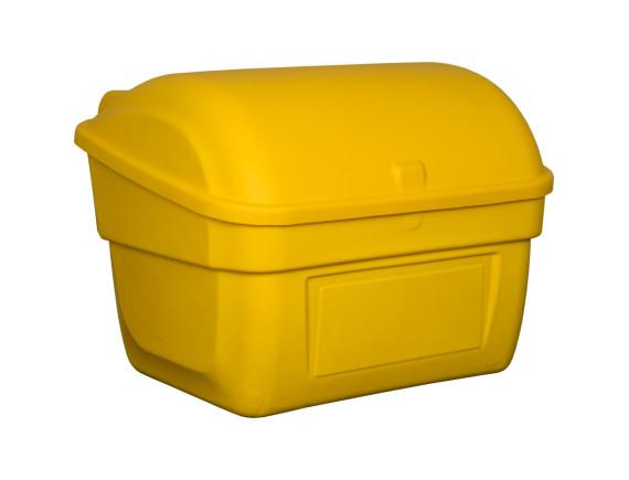 Пластиковый ящик для песка, 220 л (желтый)