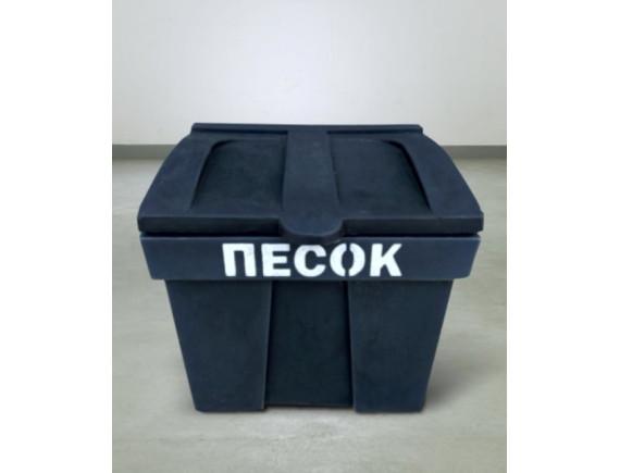 Пластиковый ящик для песка, 75 л (цвета в ассортименте)