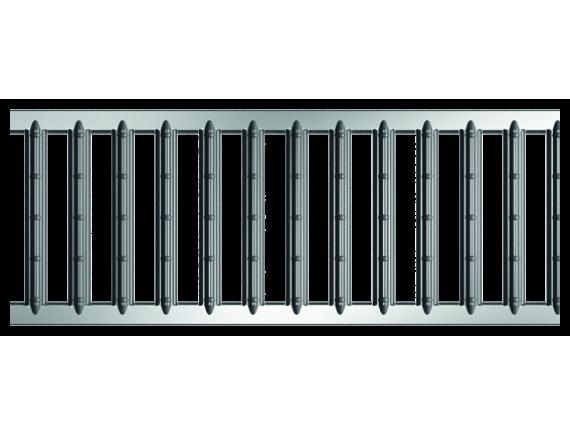 Решетка для каналов ACO Self Hexaline 2.0 (оцинкованная)