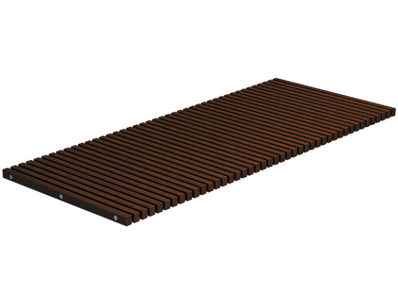 Решетка для душа ACO Walk-in 2.0 (коричневая)