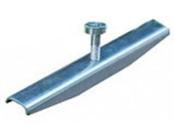 Крепеж решетки стальной с отверстиями Ecoteck 100