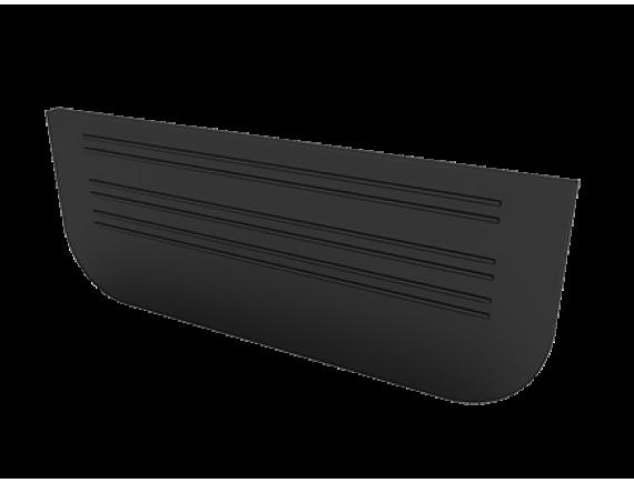 Заглушка для лотков пластиковых Ecoteck Стандарт 100.65 (черный)
