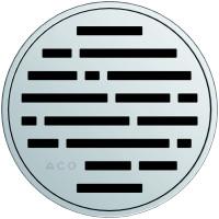 Круглая решетка для трапа ACO EasyFlow серии Exclusive (Mix)