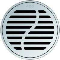 Круглая решетка для трапа ACO EasyFlow серии Exclusive (Wave)
