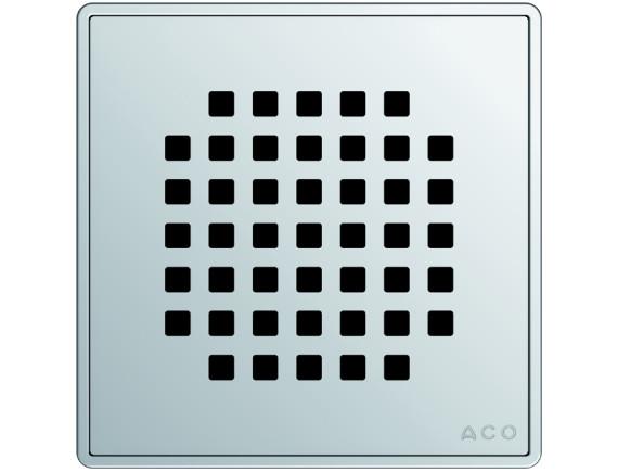 Квадратная решетка для трапа ACO EasyFlow серии Exclusive (Quadrato)