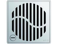 Квадратная решетка для трапа ACO EasyFlow серии Exclusive (Wave)