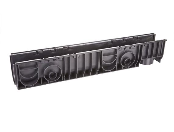 Лоток 100.175 h179 пластиковый (черный)