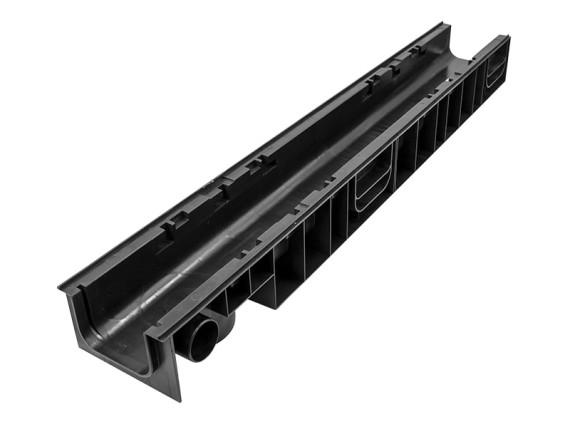 Лоток Ecoteck 100.95 h99 пластиковый (черный)