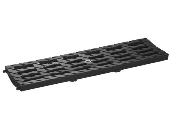 Решетка 100 MEDIUM В-125 (черный)
