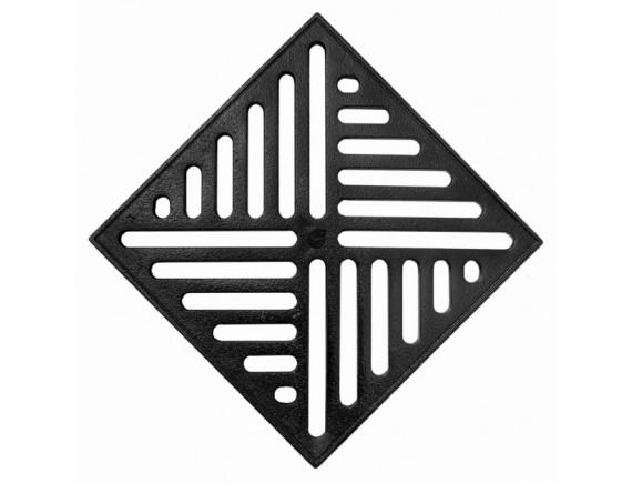 Решетка чугунная к дождеприемнику Europlast 300х300