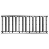 Решетка для каналов ACO Galaline (оцинкованная сталь, класс нагрузки A15)