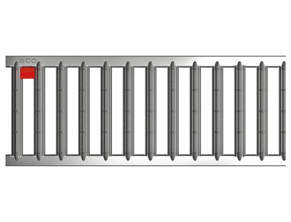 Решетка для каналов ACO Self (электрополированная нержавеющая сталь)