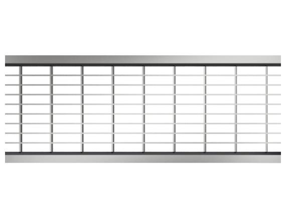 Решетка для каналов ACO Self (оцинкованная сталь ячеистая 30х10)