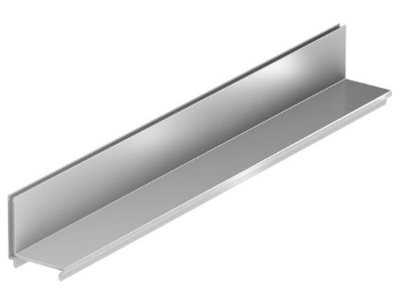 Решетка щелевая для каналов ACO Self (нержавеющая сталь)