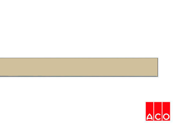 Решётка из камня (бежевая) для прямого канала ACO ShowerDrain E-line