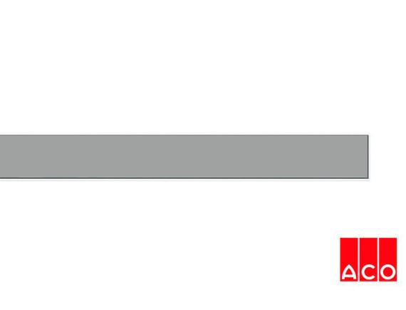 Решётка из камня (серая) для прямого канала ACO ShowerDrain E-line