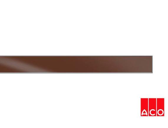 Решётка из стекла (коричневая) для прямого канала ACO ShowerDrain E-line