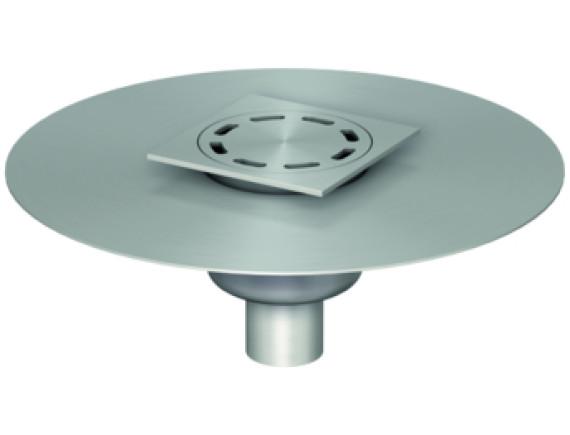 Трап нержавеющий ACO ShowerDrain FG Mini Gully 100мм (с фланцем)