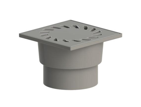 Трап канализационный с решеткой ТП-104.110-150VPpHs