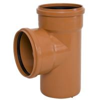 Тройник канализационный наружный Ø110 - Ø110 PP