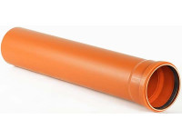 Труба канализационная наружная ПВХ Ø110 PVC-U