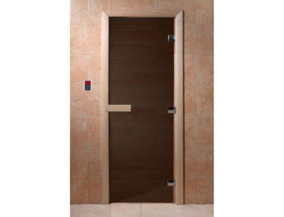 """Дверь для бани """"Черный жемчуг"""""""