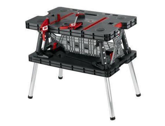 Стол рабочий складной Keter Folding working table (черный)
