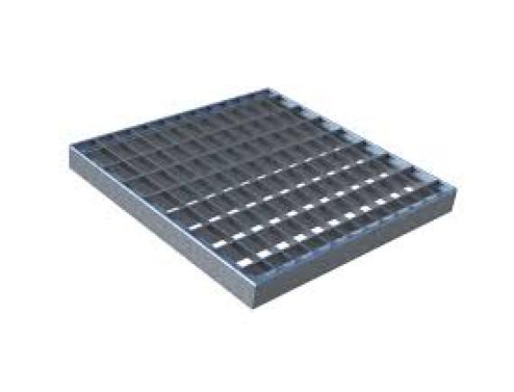 Решетка оцинкованная сетчатая к дождеприемнику Gidrolica 300х300
