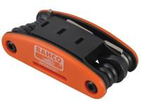 Складной набор ключей для велосипеда Bahco