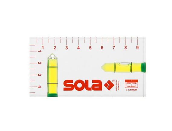 Карманный акриловый уровень SOLA R102