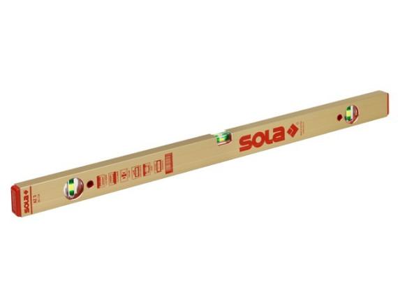 Уровень строительный SOLA серия AZ 3 (3 глазка)