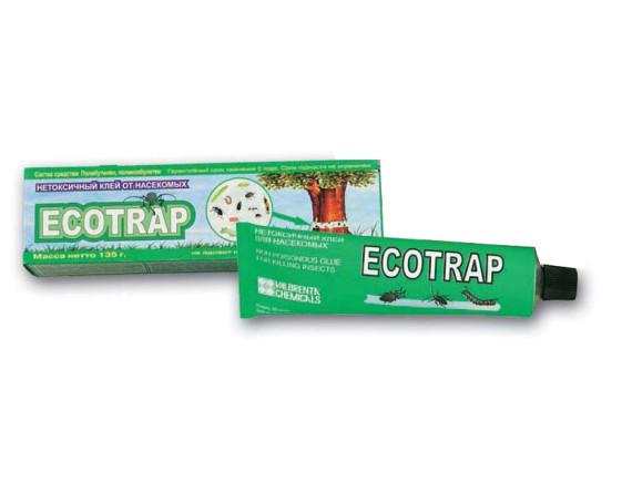 Клей для отлова насекомых ECOTRAP (туба 135 г) (Упаковка: металлическая туба по 135 гр.)