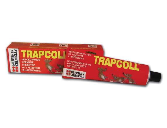 Клей от крупных грызунов и насекомых TRAPCOLL (туба 135 г) (Упаковка: металлическая туба по 135 гр.)