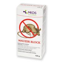 Крысиный яд. Родентицид для борьбы с грызунами Mauzer Block