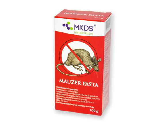 Крысиный яд. Родентицид для борьбы с грызунами Mauzer Pasta