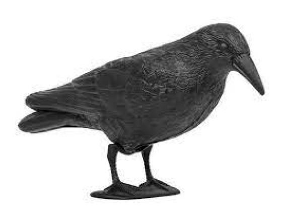 Визуальный отпугиватель птиц и грызунов (муляж) Ворон, Bradas