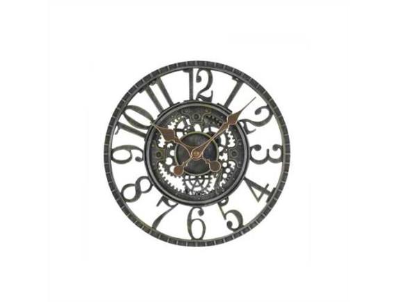 Часы настенные скелетоны Newby Verdigris by Outside In