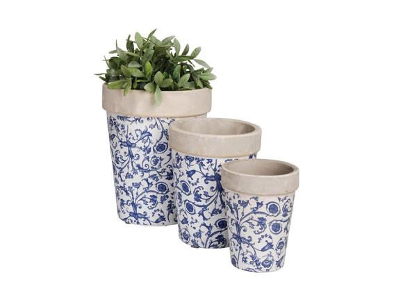 Кашпо круглые Aged Ceramic Esschert Design
