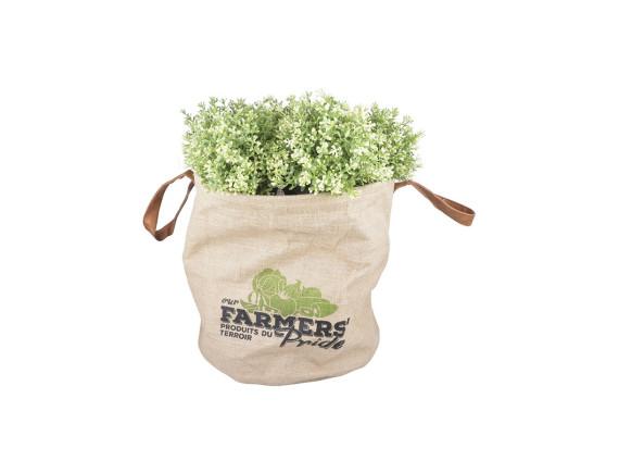 Кашпо-сумка для растений «Фермер» Esschert Design, L