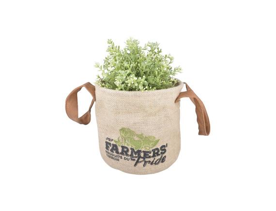 Кашпо-сумка для растений «Фермер» Esschert Design, S
